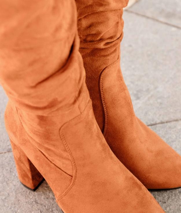 Knee-length Boot Merole - Camel