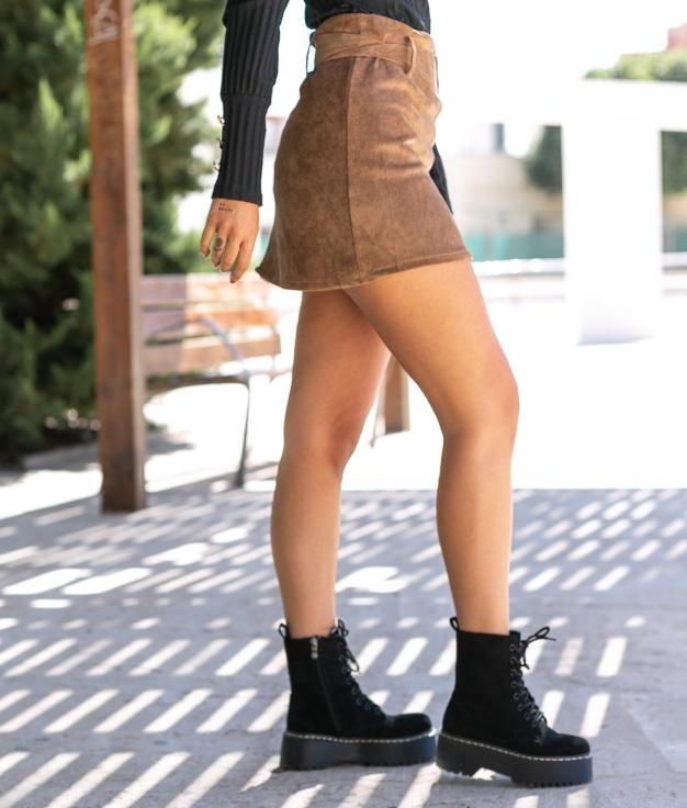 Skirt Lodrat - Camel