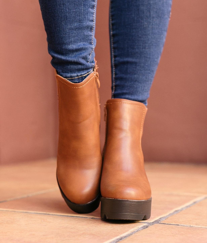 Low Boot Guitu - Camel