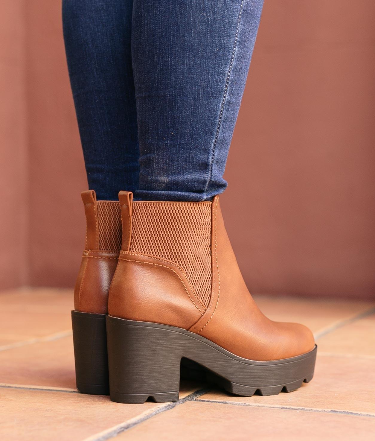 Boot Petite Guitu - Chameau