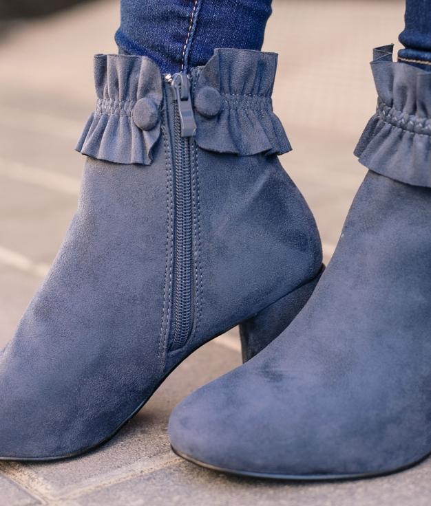 Low Boot Defru - Blue