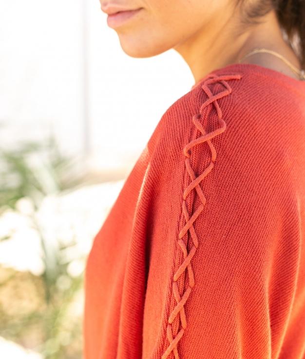 Sweater Felicity - Brick