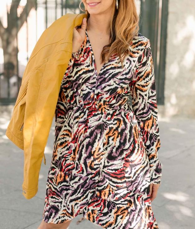 Vestido Gulena - Multicolorido