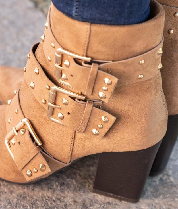 Low Boot Latros - Camel