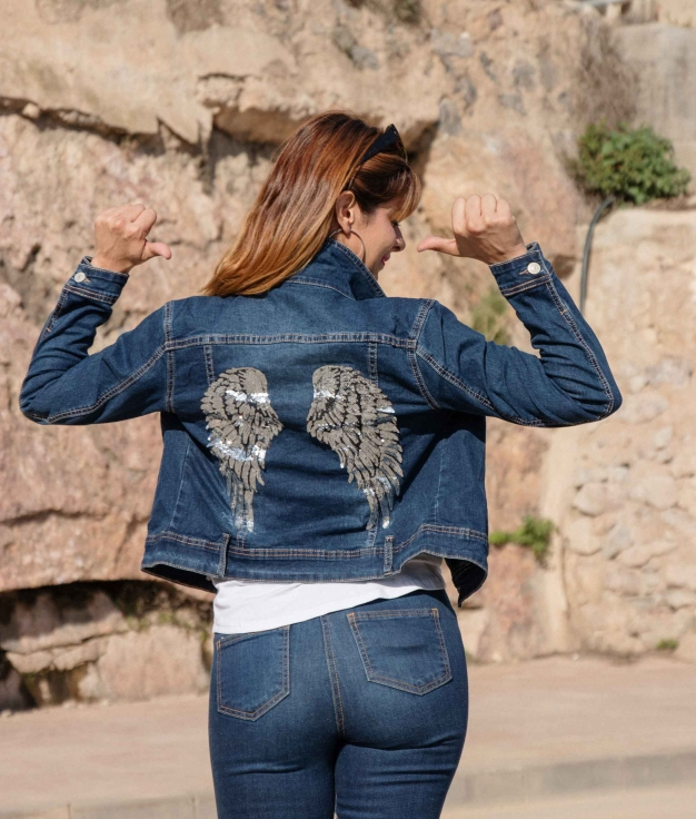 Chaqueta Vitally - Denim