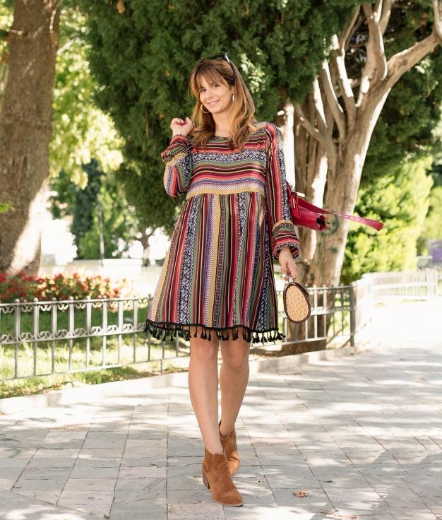 Vestido Plein - Multicolorido