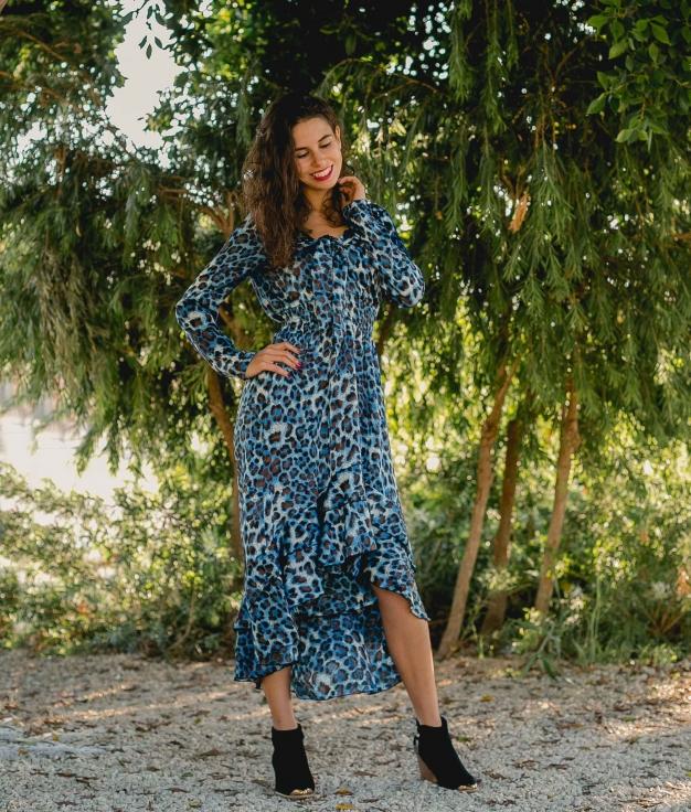 Dress Siuna - Blue