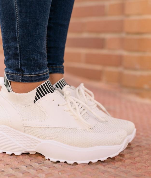 Sneakers Balis - Bianco