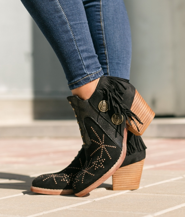 Low Boot Buyren - Black