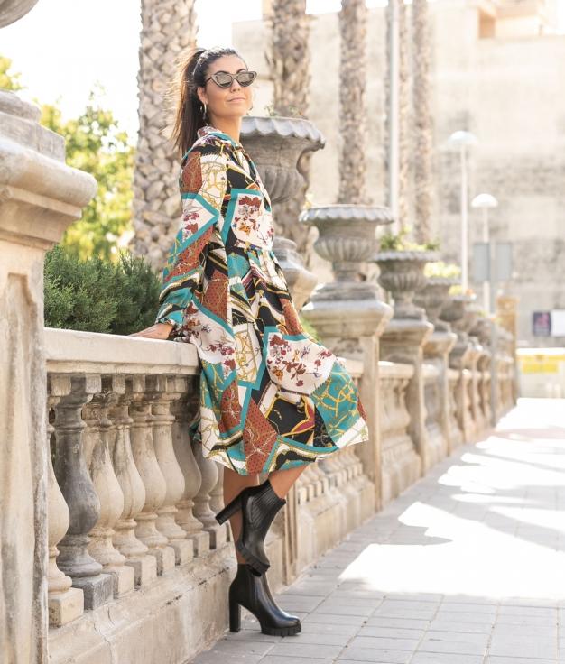 Vestido Pinter - Multicolorido