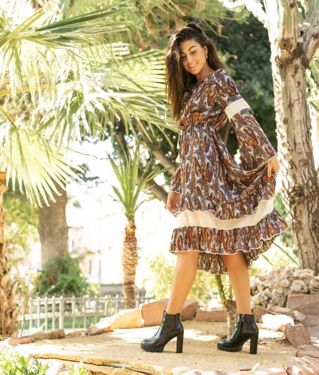 Dress Kefta - Brown
