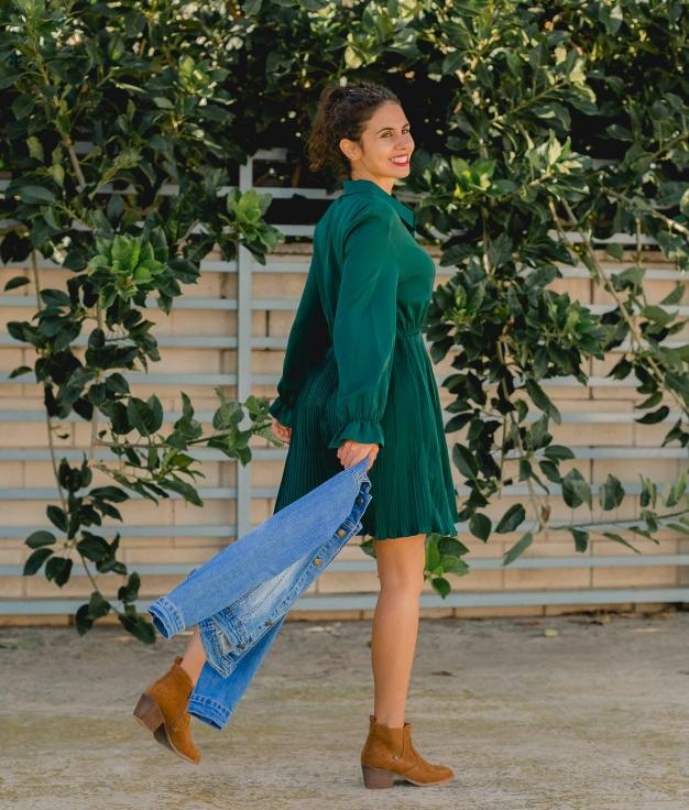 Dress Benci - Green
