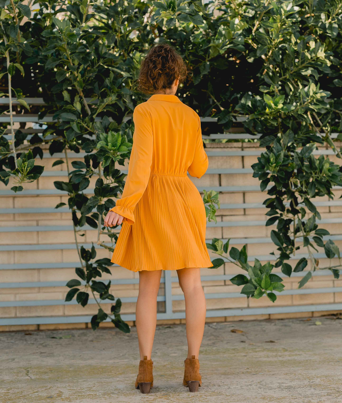 Vestido Benci - Mostarda