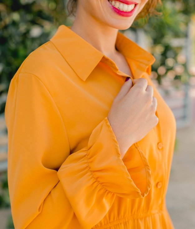 Vestido Benci - Mostaza