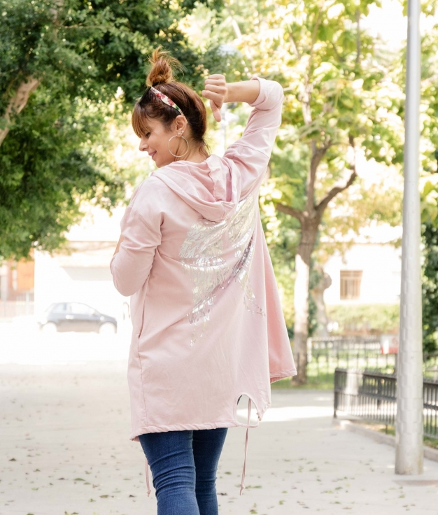 Jacket Crowel - Pink