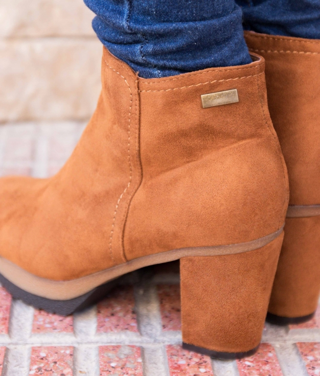 Low Boot Triner - Camel