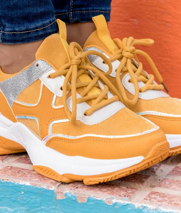 Sneakers Karmen - Amarelo