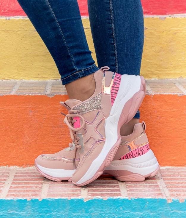 Sneakers Karmen - Pink