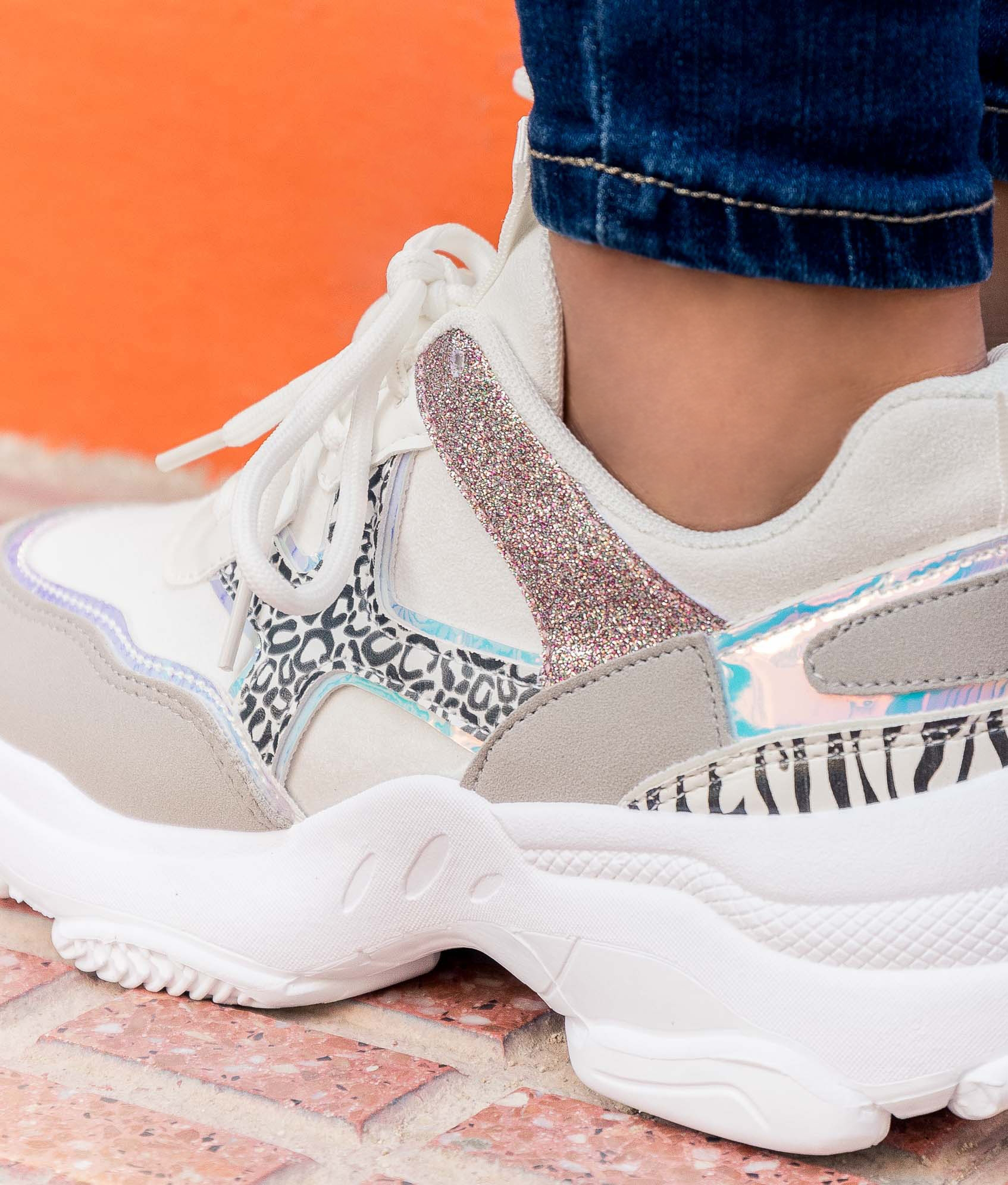 Sneakers Karmen - Bianco