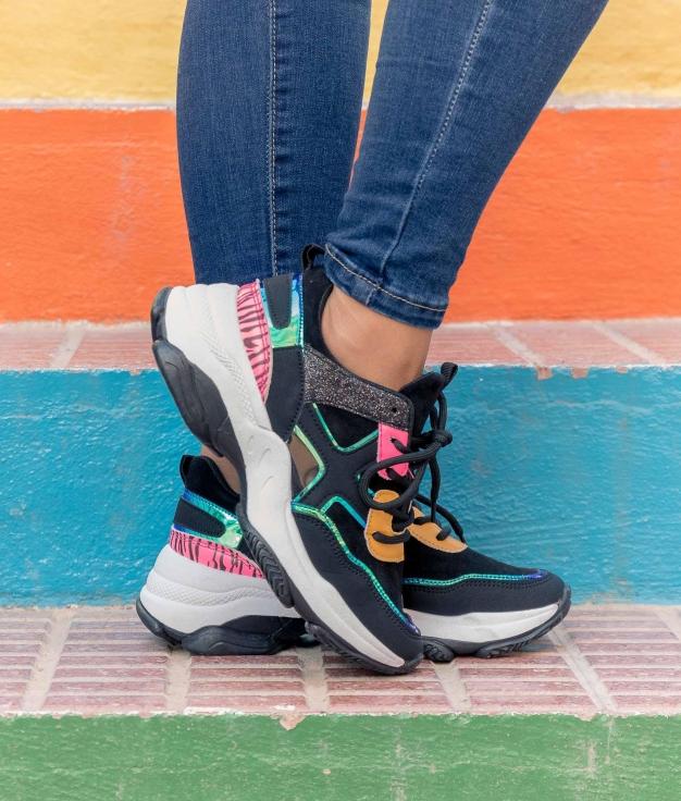 Sneakers Karmen - Preto