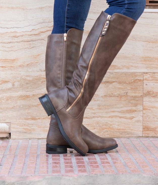 Knee-length Boot Sepur - Khaki