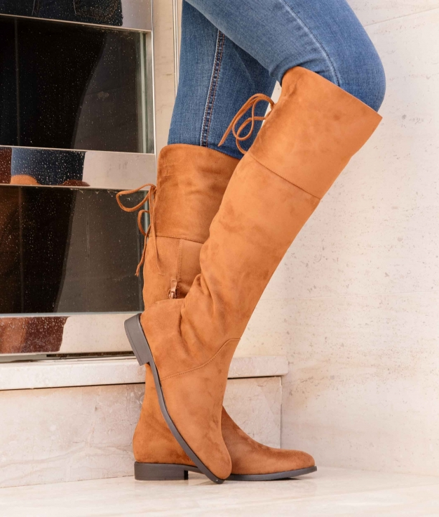 Knee-length Boot Visner - Camel