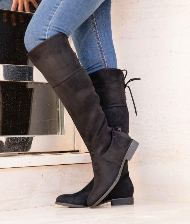Knee-length Boot Visner - Black