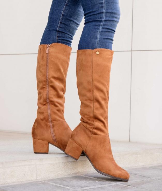 Knee-length Boot Derito - Camel