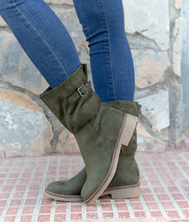 Low Boot Garges - Green