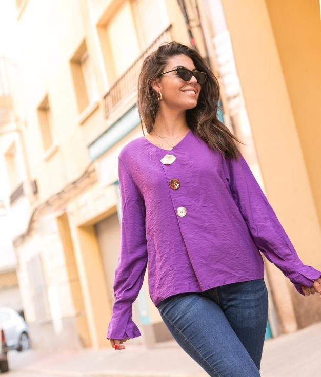 Blouse Kerala - Purple