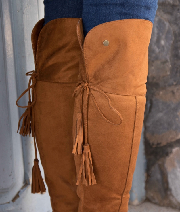 Knee-length Boot Golon - Camel