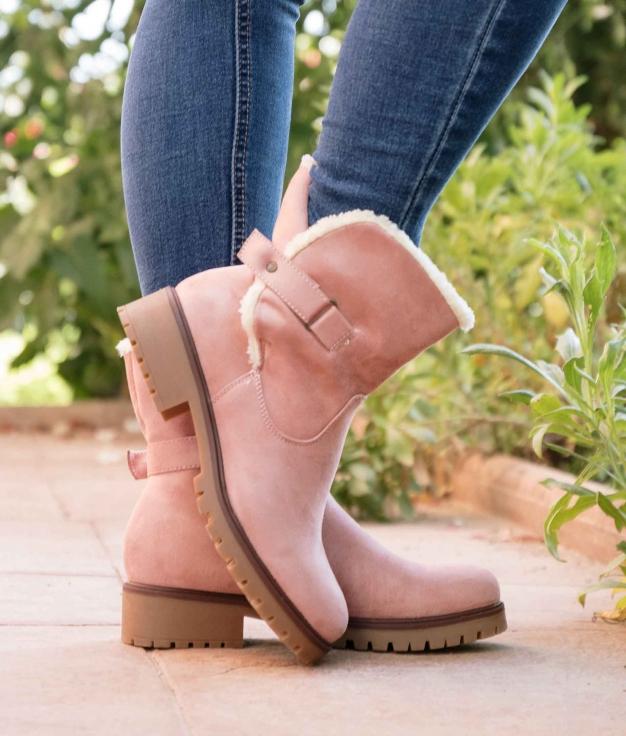Low Boot Sedar - Pink