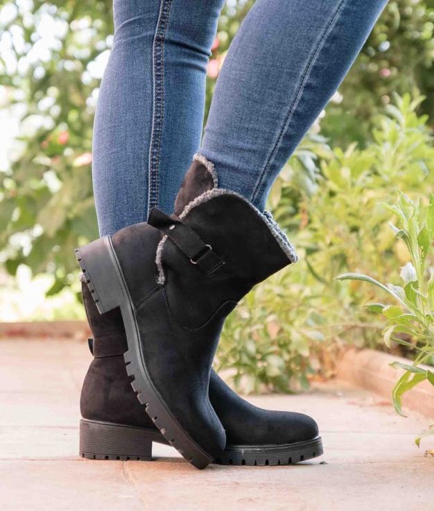 Low Boot Sedar - Black