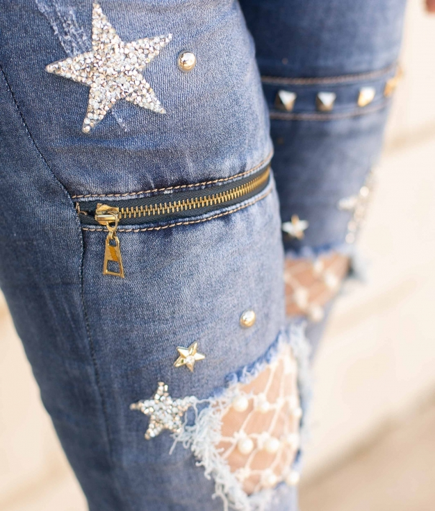 Pantaloni Safy - Denim