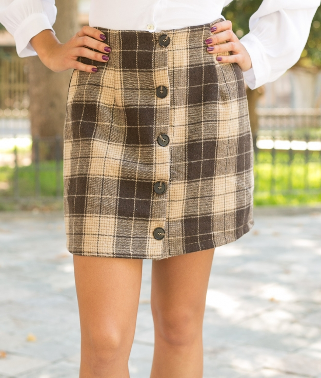Skirt Winnie - Brown