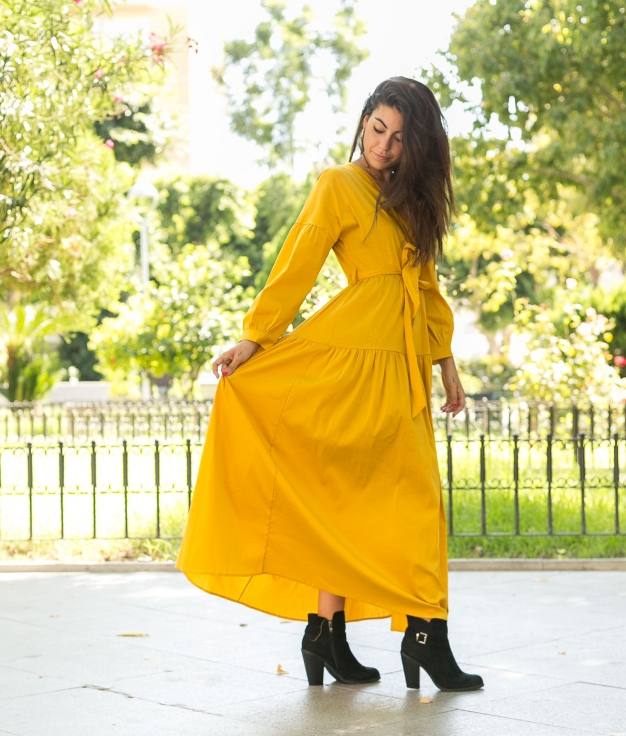 Vestido Capris - Amarillo