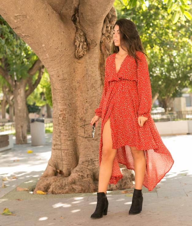 Dress Persel - Brick