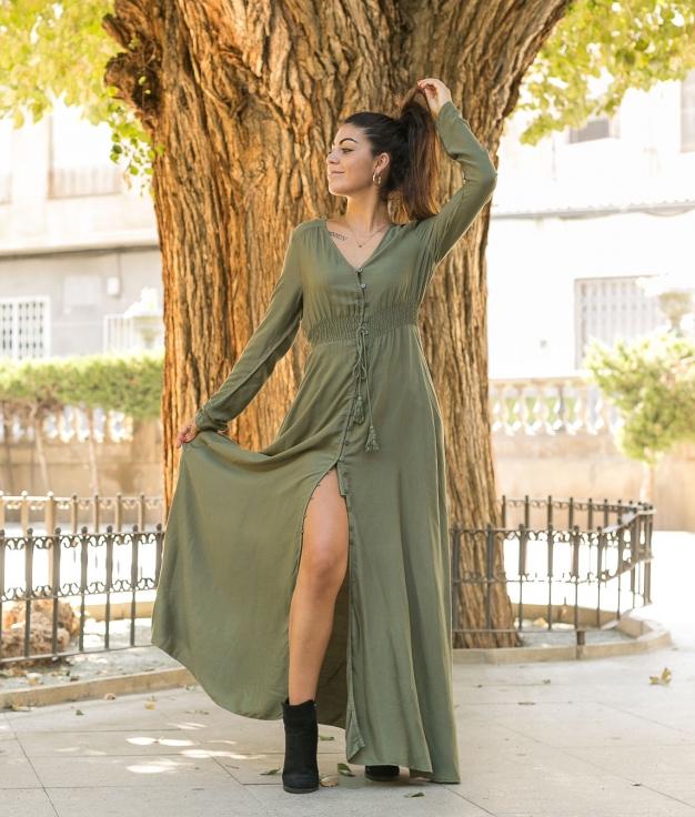Vestido Kaydy - Verde