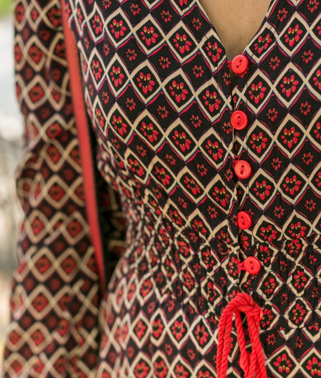 Dress Krak - Red