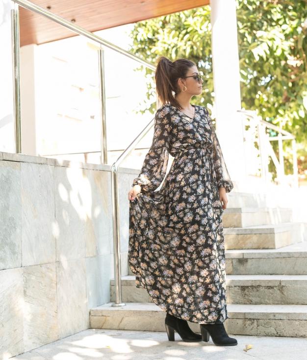 Vestido Castor - Preto