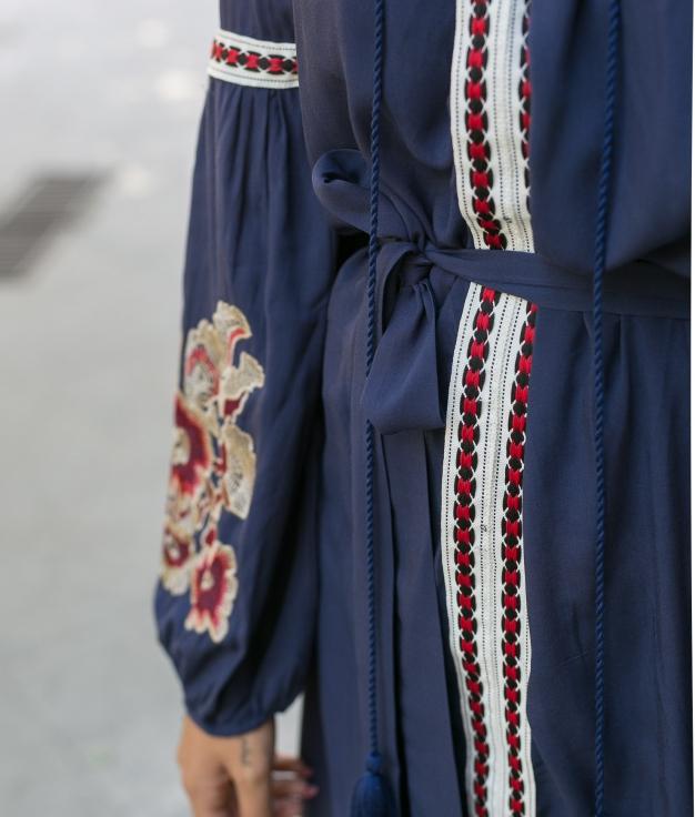Vestido Mertin - Azul Marinho