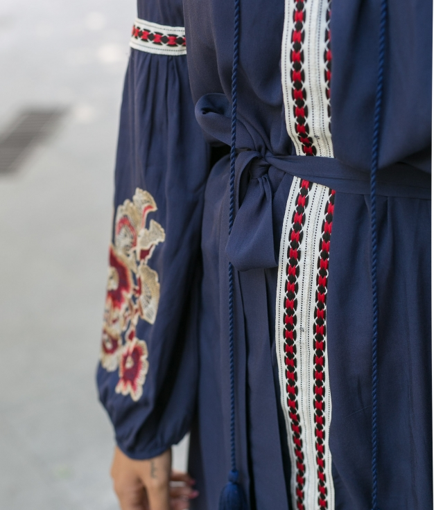 Vestido Mertin - Azul Marino