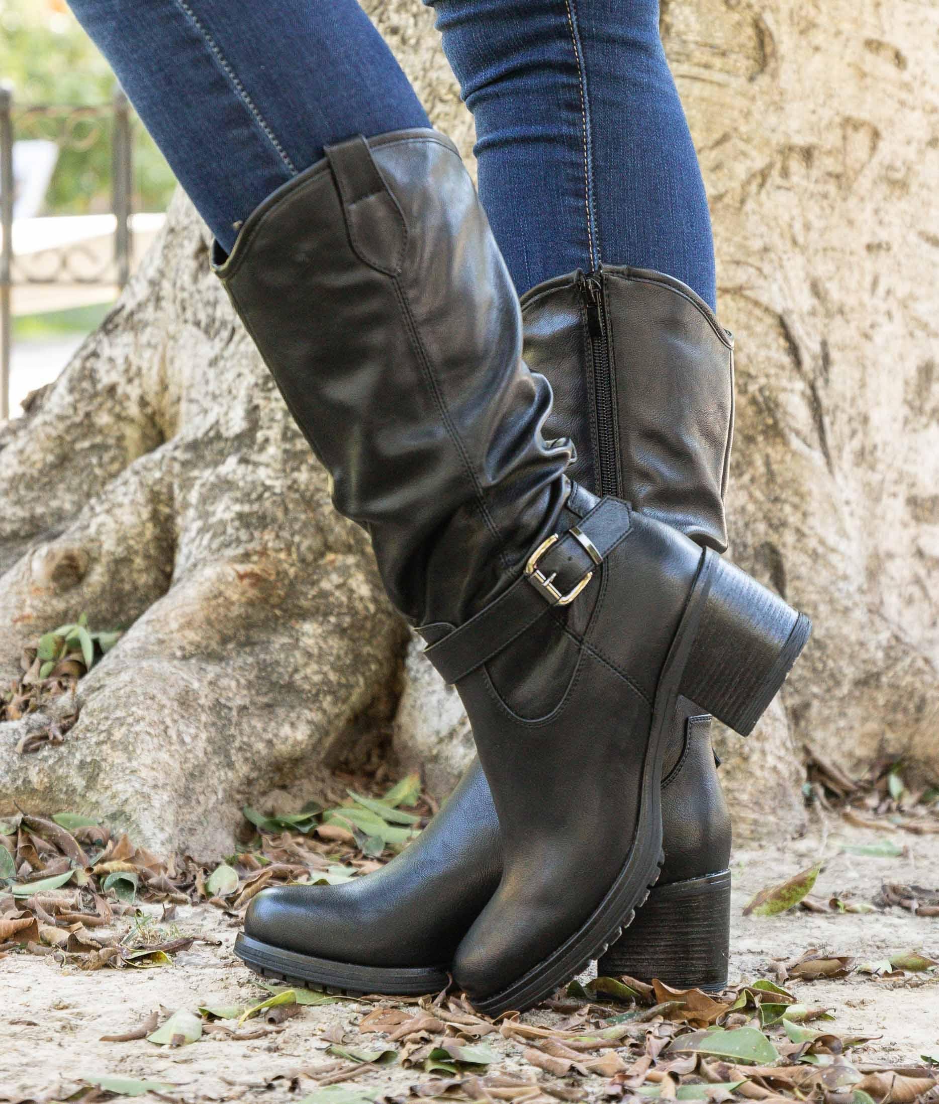 Knee-length Boot Asra - Black