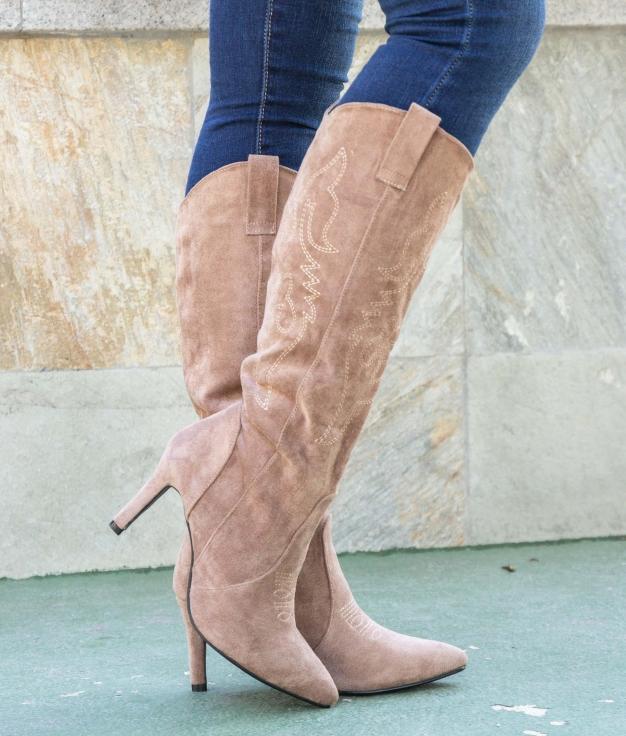 Knee-length Boot Inmer - Khaki