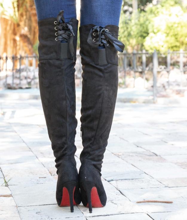 Knee-length Boot Crules - Black
