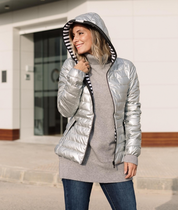 Jacket Ekeda - Silver