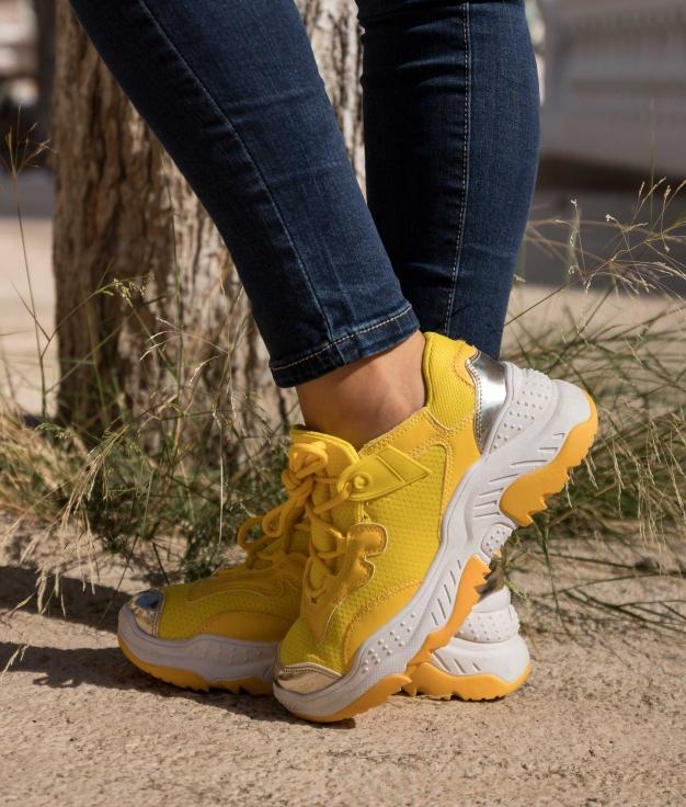 Sneakers Sinia - Amarelo