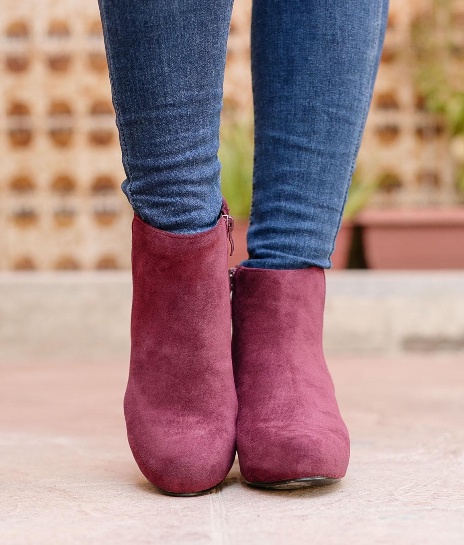 Low Boot Gufy - Maroon