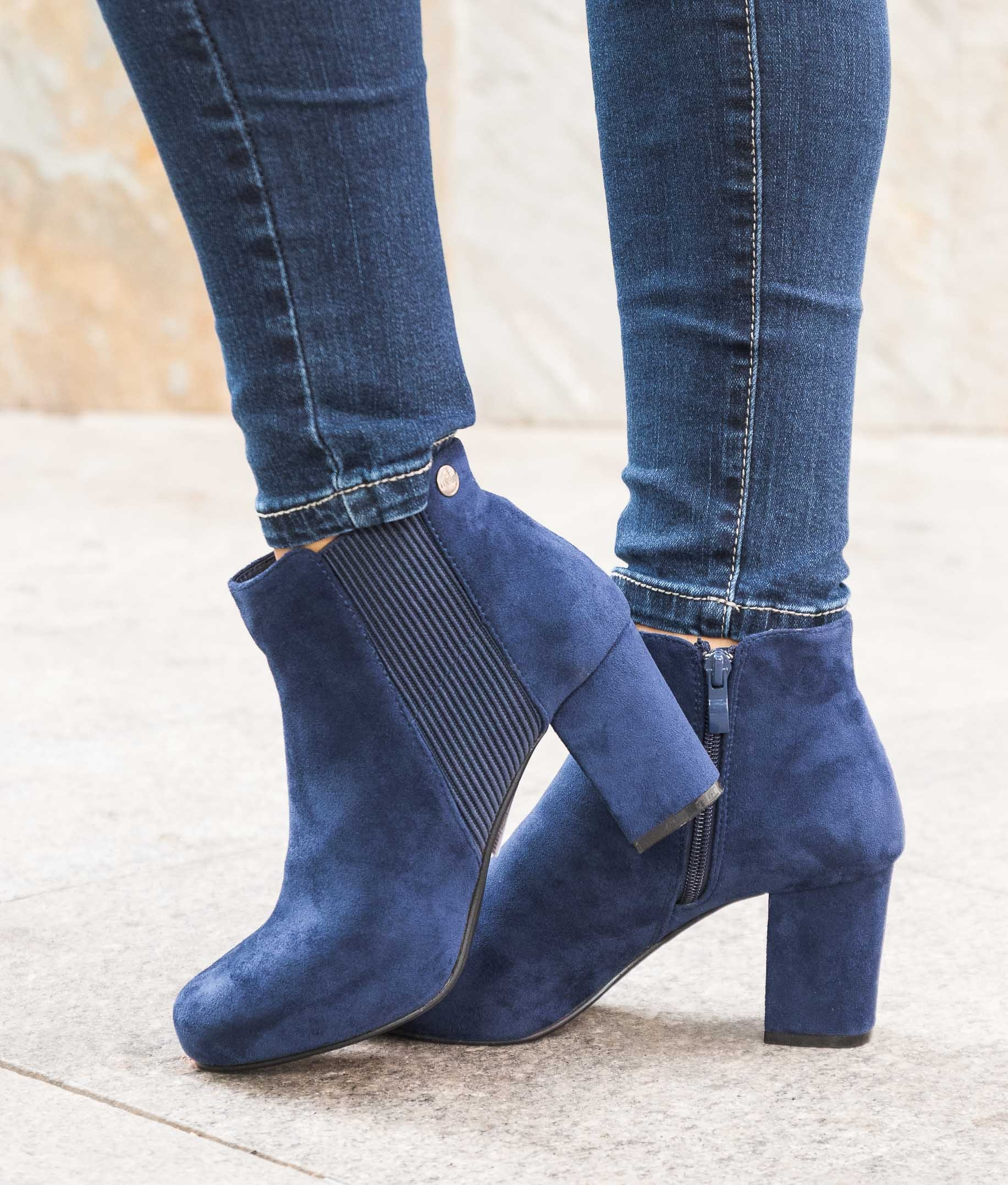 Bota Baixa Gufy - Azul