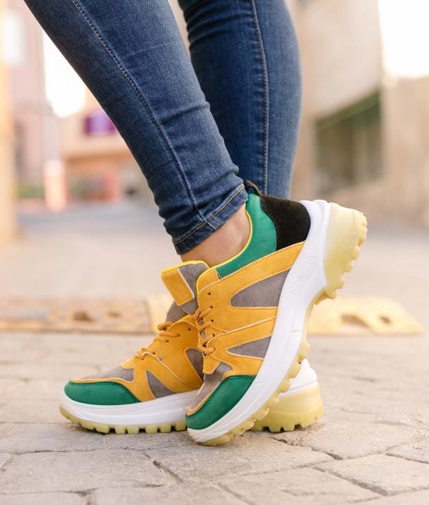 Sneakers Forbloms - Amarelo